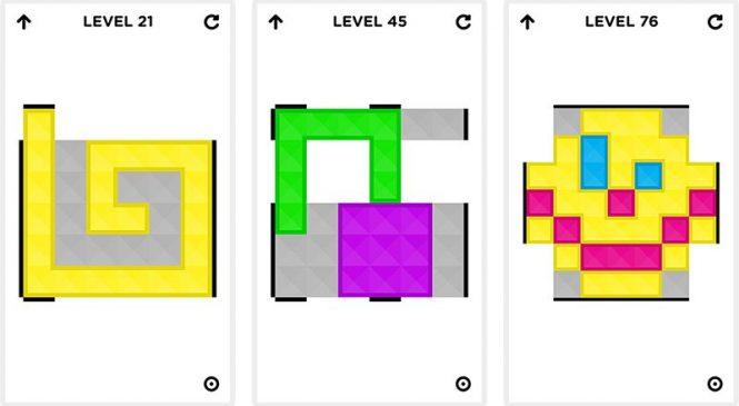 Flat Cubes : Un jeu de réflexion iOS basé sur le Rubik's Cube
