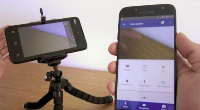Une application qui recycle votre vieux mobile en caméra de surveillance