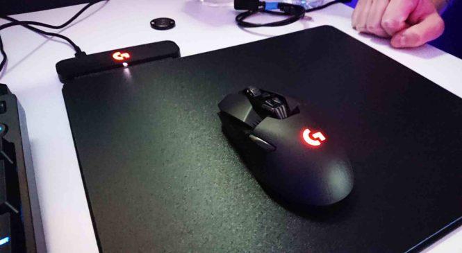 Logitech Powerplay : Le gaming avec une souris sans fil est enfin possible