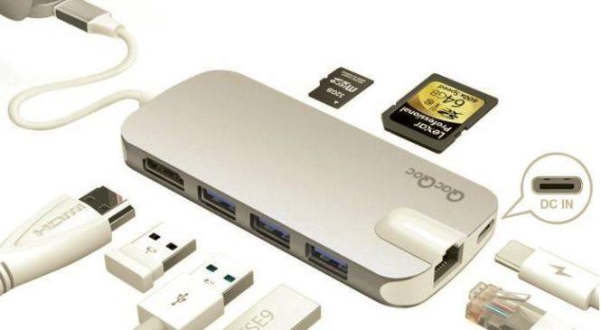 QacQoc : Un adaptateur multiport pour votre PC ou votre Mac (USB-C)