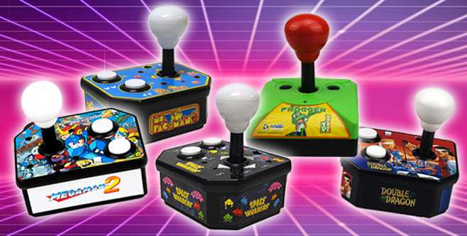 PQube lance des mini-consoles avec des jeux d'arcade rétro