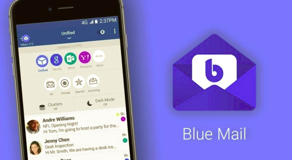 application pour mail android