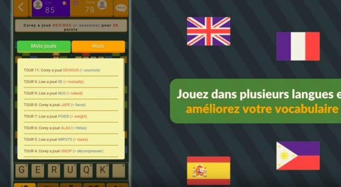 Marbble : Le premier jeu de Scrabble multilingue au monde