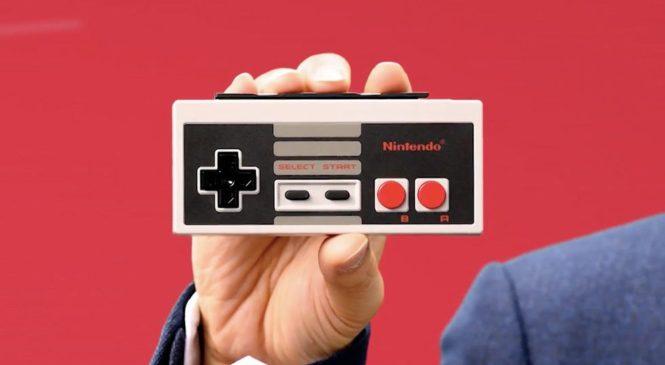 Nintendo Switch : Des manettes NES sans fil pour vos jeux «rétro»