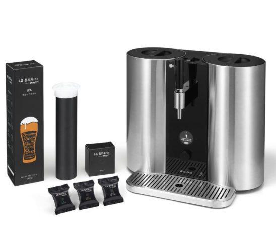 LG Homebrew, une machine pour brasser votre bière à la maison