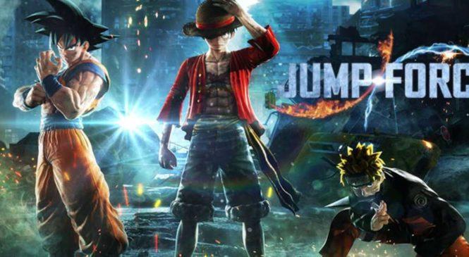 Jump Force vient de débarquer sur Xbox One et PS4