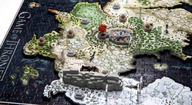 Game of Thrones : Recréez Westeros grâce à ce puzzle 3D