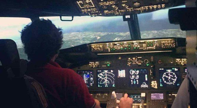 J'ai testé un simulateur de vol grâce à Cap Adrenaline