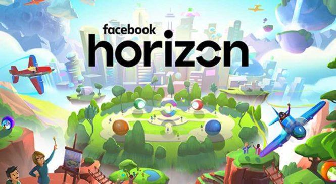 Facebook dévoile Horizon, son réseau social en réalité virtuelle
