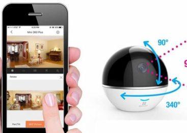 Le test de la caméra wifi motorisée intérieure Ezviz