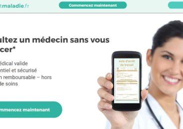 Arretmaladie.fr : Le site qui propose un arrêt de travail en 3 minutes
