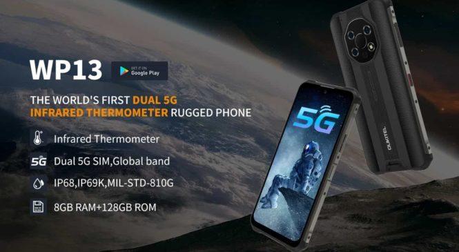 Oukitel WP13 5G, le smartphone incassable est en promo